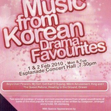 Music from Korean Drama Favorites - 오준성 드라마 콘서트 [싱가포르]